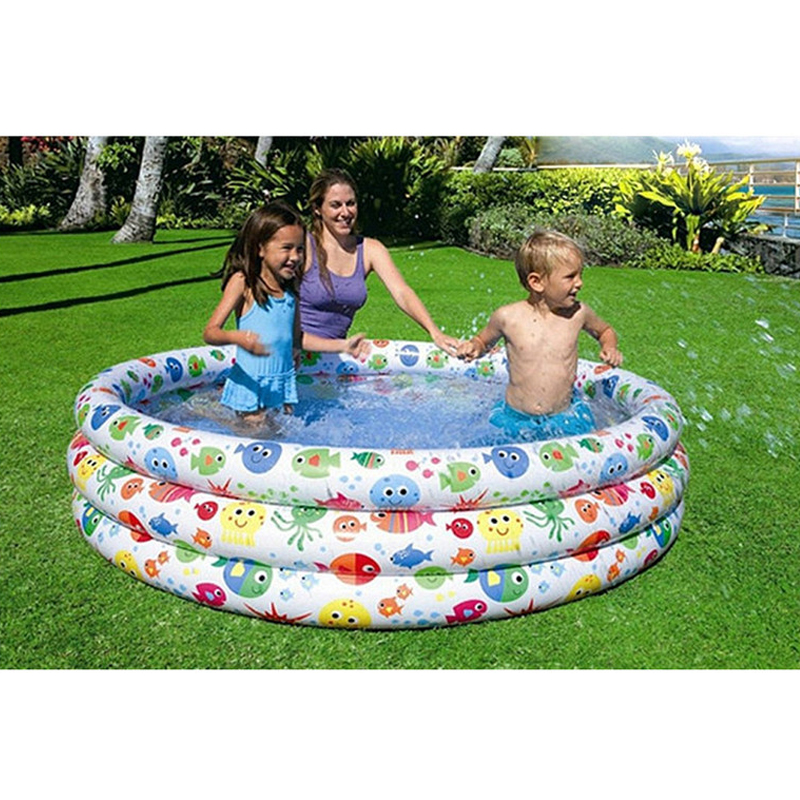 Large Size 168*40cm Inflatable Children Swimming Water Pool Children Piscina Bebe Zwembad Kid Playground cute children inflatable swimming water pool ocean ball thick pvc outdoor playground zwembad piscina bebe a107 1