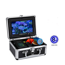 15M Underwater Fishing Camera Video Fish Finder 12PCS White LED+12PCS Infrared LED Night Vision DVR Optional