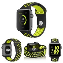 Фотография LEONIDAS Nike Sport Band for Apple Watch Replacement Watch Strap for Apple Watch Bands Series 3 2 1