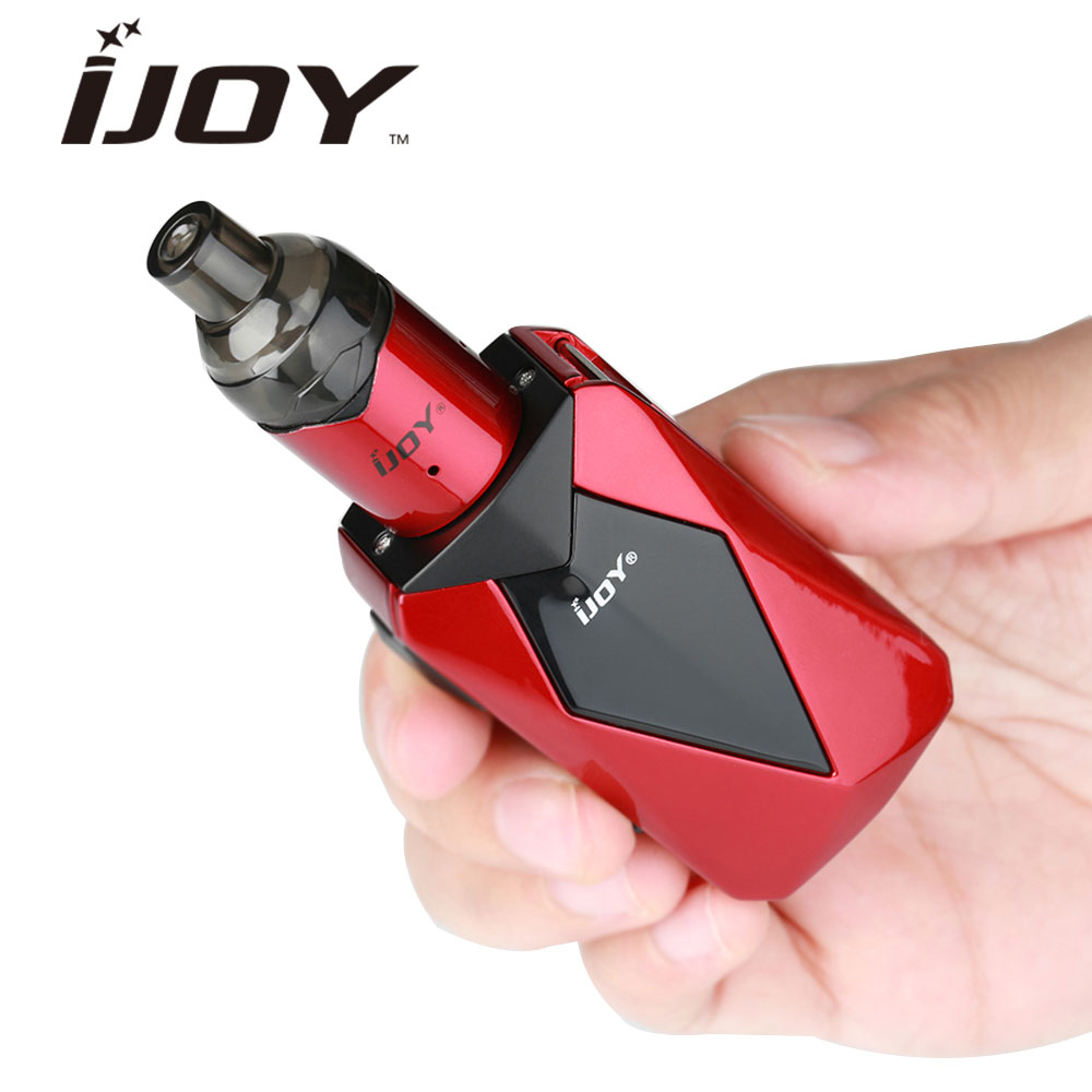 Original IJOY Diamond VPC Kit W/ 1400mAh Battery W/ 2ml VPC Unipod Tank Max 45W Electronic Cigarette Vape Kit Vs IJOY Avenger original ijoy saber 100 20700 vw kit max 100w saber 100 kit with diamond subohm tank 5 5ml