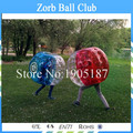 Envío Gratis 1.0 metros de Diámetro TPU Parachoques Bola Burbuja de Fútbol, Fútbol Burbuja Bola Del Zorb Para La Venta, Bola Del Zorb