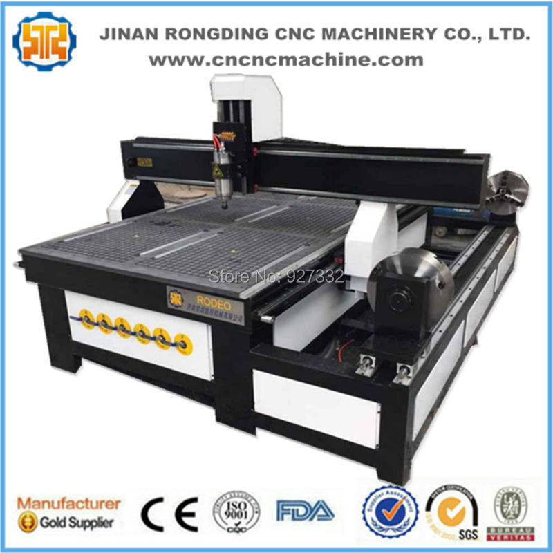 RODEO 1325 4 Axis Cnc Wood Engraving Machine, 3d Cnc Router