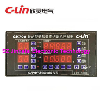 C-Lin GK70A  GK900A  New and original Intelligent steel bar adjust the cutting machine controller AC220V  AC380V