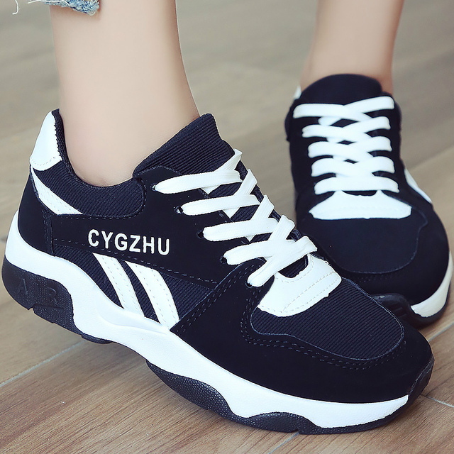 f6f9f404e3a10 Female shoes sneakers women casual shoes cheap flock mesh fashion lace up ladies  shoes sneaker 2018 Spring Autumn
