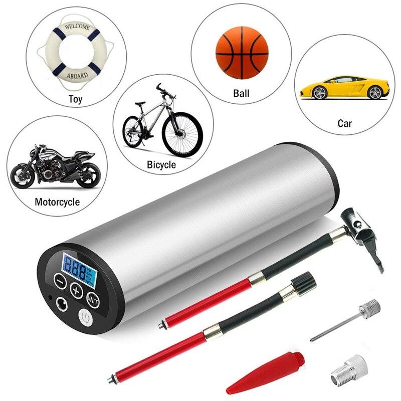 LCD 150PSI 12V Air Compressor Auto Car Bike Electric Tire Inflator Pump...