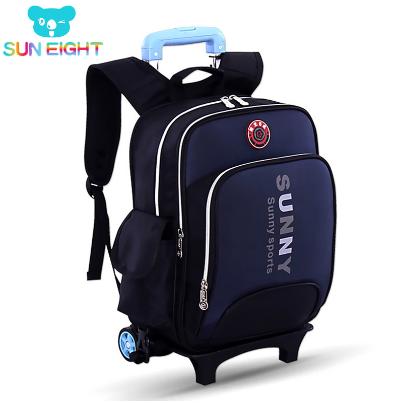 Wheeled Bag School Bags Backpack Trolley Bag Primary Students Kid School Backpack Travel 710 39 99usd 9 colours 2017 wholesale korean fashion pu zipper primary secondary school students backpack five pieces 2017121401