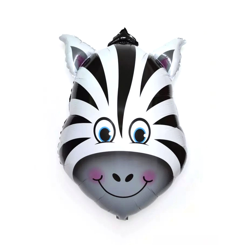 Jungle Party Animal Foil Balloons Zoo Animal Jungle Theme Birthday Party Decoration Kids Birthday Balloons Safari Party Decor in Ballons Accessories from Home Garden