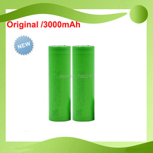 Free shipping!! 2PCS/LOT Original New 3.6V 18650 US18650 VTC6 3000mAh Continuous 30A E-Cig Battery For Sony