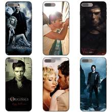 TPU Cell Cover Case For Samsung Galaxy A3 A5 A6 A6s A7 A8 A9 Star Plus 2016 2017 2018 The Vampire Diaries Ian Joseph(China)