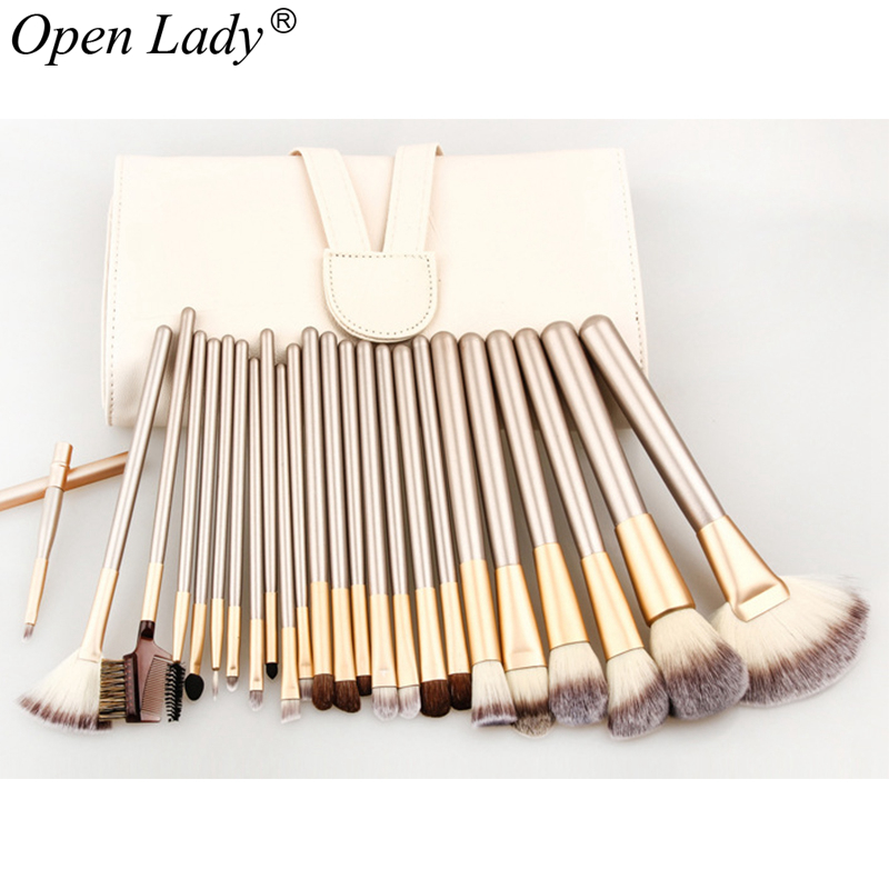 12/18/24 Pcs Professional Makeup Brushes Set Soft Synthetic Make Up Brush Eyeshadow Eyeliner Lip Brush Kits With Bag f98 2016 newestnew bluetooth headphone wireless stereo headset earbuds earphone for iphone samsung free shippingfree shipping