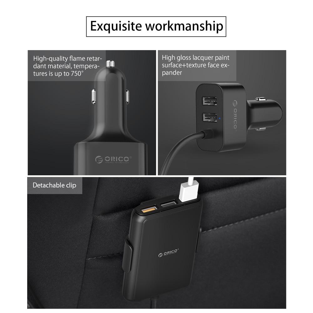 MPIC Avtomobil Mobil Telefonlar Tablet PC 12V / 24V üçün ORICO - Cib telefonu aksesuarları və hissələri - Fotoqrafiya 4