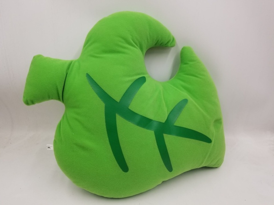 Animal Crossing Leaf Plush Pillow Cushion Ichiban Kuji A Prize Mamekichi Gifts