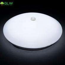 GLW 12W 18W PIR Motion Sensor LED Ceiling Lights Surface Mounted Lamparas De Techo for Hallway