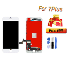 1PCS LCD For iPhone 7 Plus Display Touch Screen Assembly Replacement Good 3D touch Free ship iPhone7p lcd