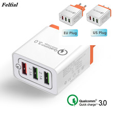 Universal 18 W USB Quick charge 3.0 5V 3A for Iphone x xsmax EU US Plug Mobile Phone Fast charger charging for Samsug s10 Huawei 3 usb quick charge 3 0 5v 3a eu us for iphone 7 8 eu us plug mobile phone fast charger charging for samsug s8 s9 xiaomi note 7