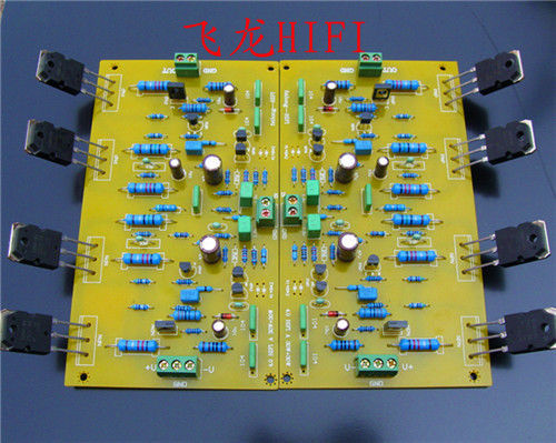 ФОТО For Musical Fidelity Dual AC 20V - 26V A1000 Amplifier board Finished Board