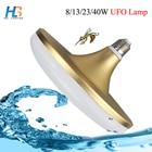 UFO LED Bulb Light E27 8W 13W 23W 40W High Power waterproof LED Lamp Cold white AC 220v Lampara Ampoule Lampada led bulb