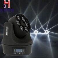 (1 шт./лот) светодиодный луч + мыть 6x15 Вт RGBW 4in1 пчелы Средства ухода для век Moving Head свет с отличной pragrams 11/14 каналы