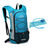 Gojoy Climbing bag with Water Bag 2L Outdoor Backpack nylon Motorcross Camelback Riding Backpacks Hiking Mochila