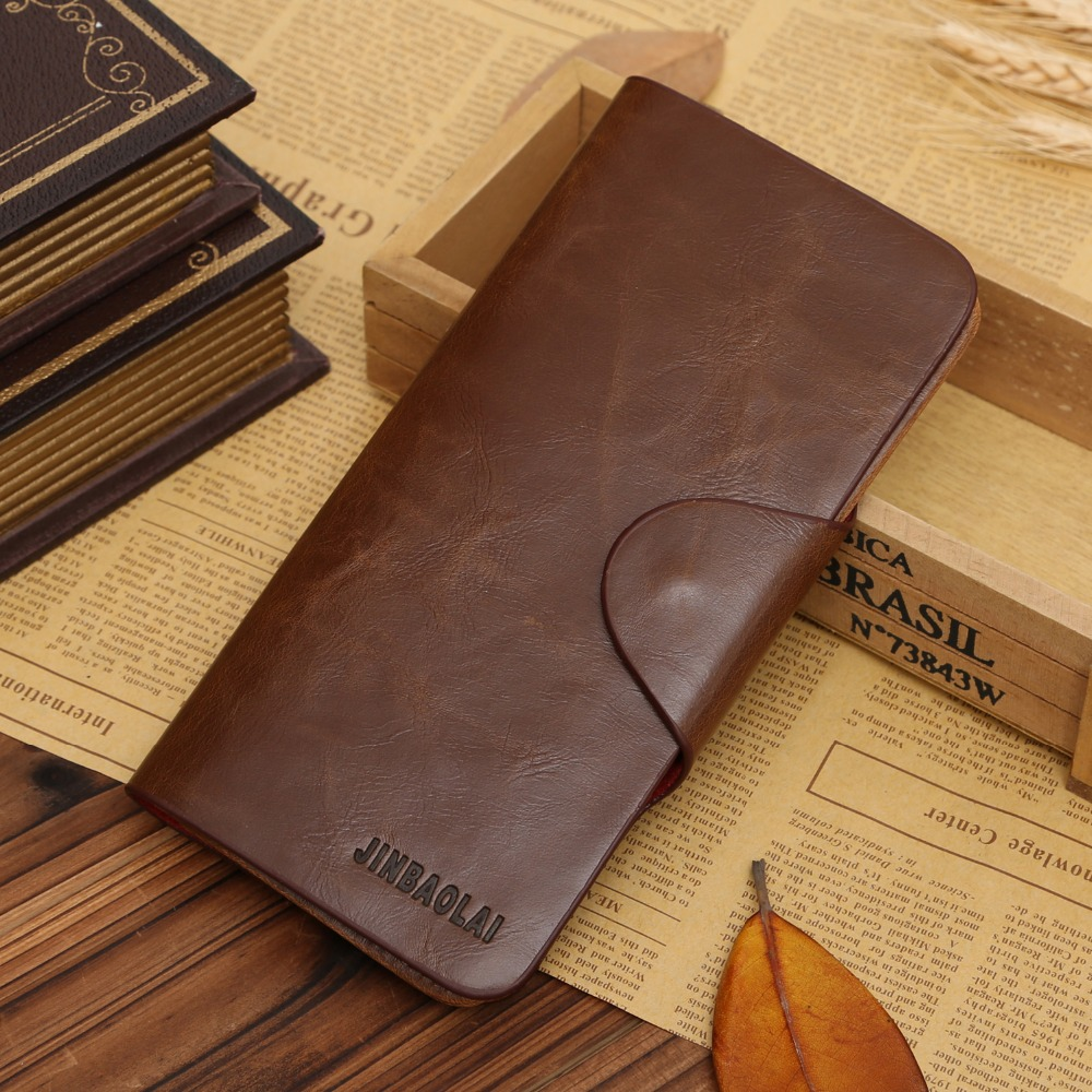 Long Famous Brand Handy Portfolio Leather Men Wallet Purse Male Clutch Bag With Money Portomonee Walet Cuzdan Vallet Card Holder kavis genuine leather long wallet men coin purse male clutch walet portomonee rfid portfolio fashion money bag handy and perse