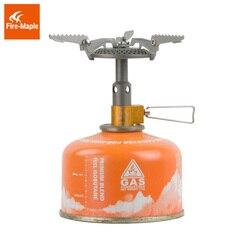 Огонь Клен FMS-116T Открытый Мини Кемпинг печи газовая горелка для альпинизма 48 г 2300 Вт портативный легкий титан газовая плита