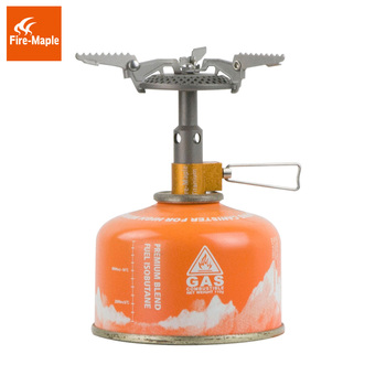 Fire Maple FMS-116T Outdoor Mini Camping Stoves Gas Burner For Backpacking 48g 2300W Portable Lightweight Titanium Gas Stove цена 2017