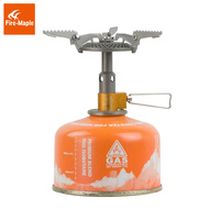 Fire Maple FMS 116T Outdoor Mini Camping Stoves Gas Burners For Backpacking 48g 2300W Portable Lightweight Titanium Gas Stove