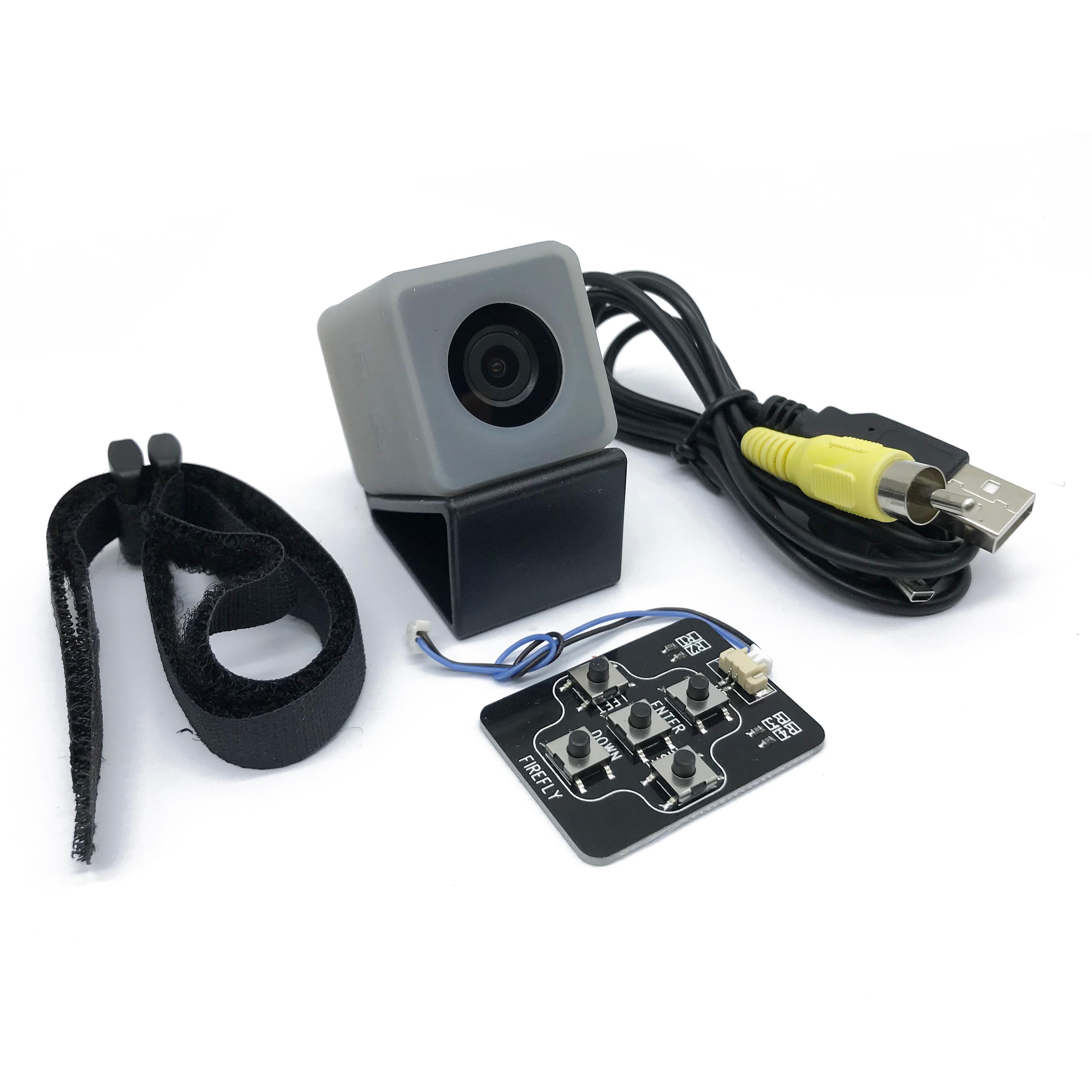 Oyuncaklar ve Hobi Ürünleri'ten Parçalar ve Aksesuarlar'de Hawkeye Firefly Mikro Kam 2 160 Derece 2.5 K HD Kayıt FPV Eylem Kamera Dahili Pil Düşük Gecikme RC drone Uçak'da  Grup 1