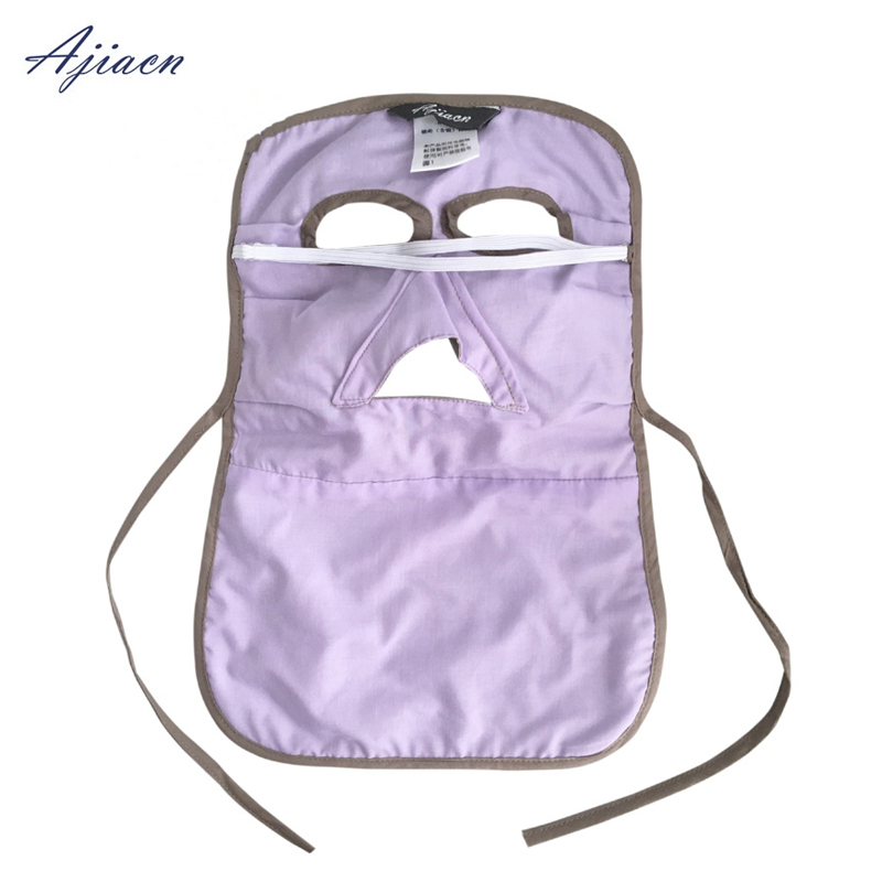 Image 4 - Ajiacn Recommend electromagnetic radiation protection mask Protect the face and protect the thyroid EMF shielding long face mask-in Masks from Security & Protection