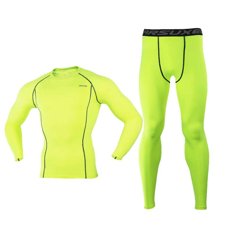 Profissional Jaqueta De Esqui e Calças Dos Homens Calças de Secagem rápida Homens Roupa Interior Quente Long Johns Homens De Esqui Esqui Térmico/Caminhadas /ciclismo