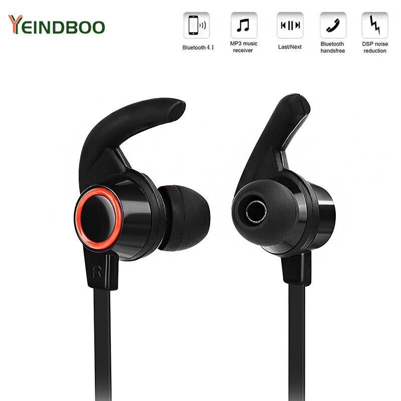 YEINDBOO אלחוטי Bluetooth אוזניות ספורט ריצת אוזניות אלחוטיות פעיל רעש מבטל אוזניות טלפון Bluetooth אוזניות