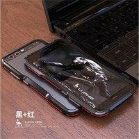 Luphie Odporny Na Wstrząsy Coque Aluminium dla Huawei P10 P10 Plus Metal Blade zderzaka Ramy Skrzynki Pokrywa Smart phone