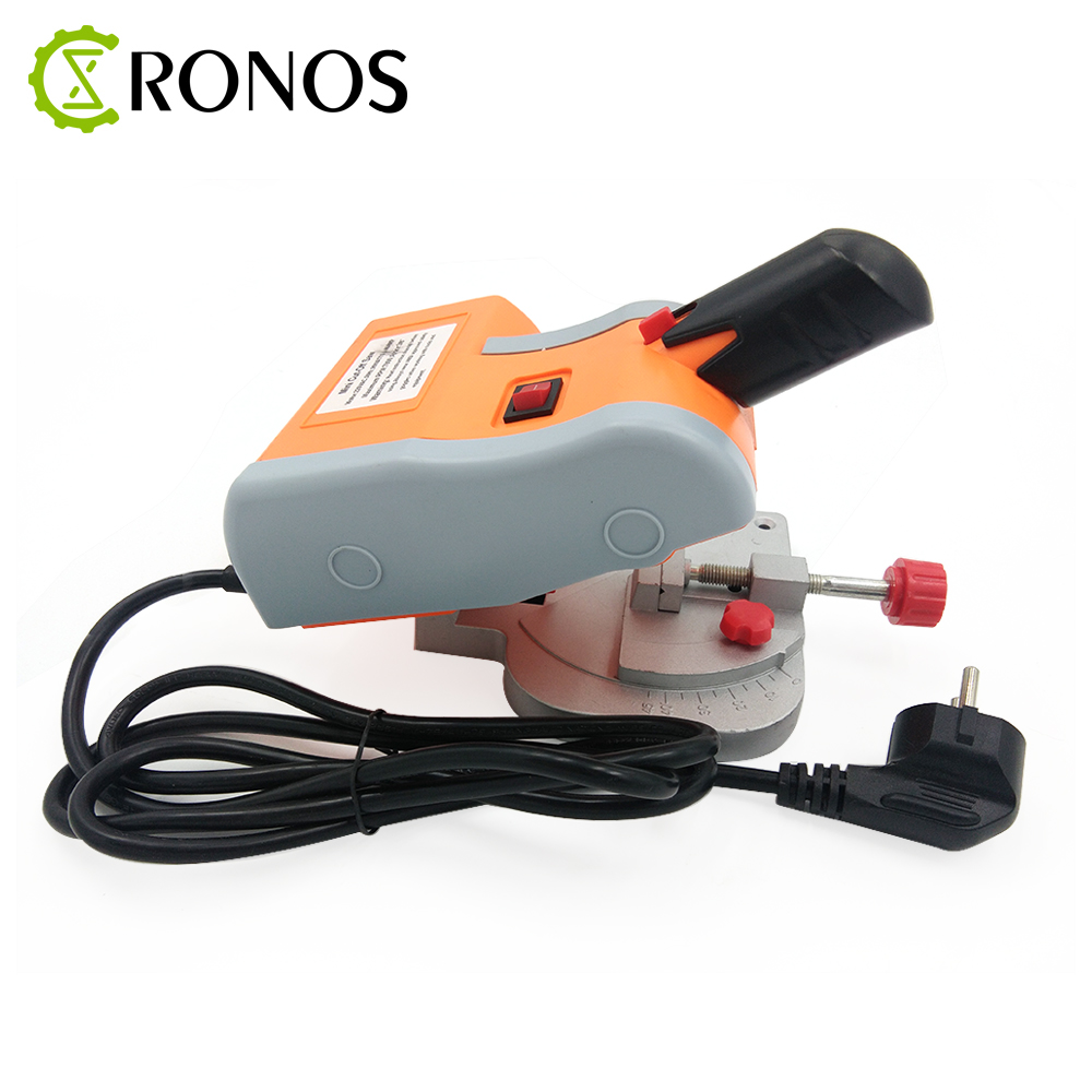 New 90w Cutting Machine high speed Bench Cut off Saw Steel Blade for cutting Metal Wood Plastic with Adjust Miter Gauge-in Woodworking Machinery Parts from Tools    2