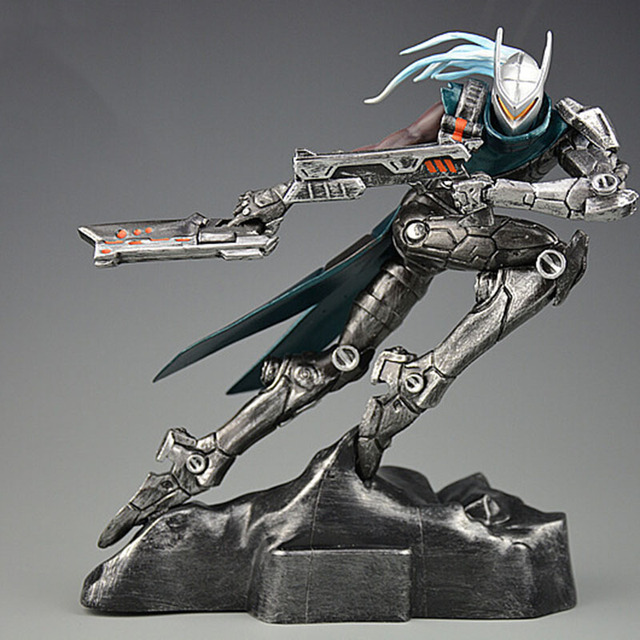 LOL League of Legends figure Lucian Project limited edition Model Toy action-figure Game Heros anime party decor Creative Gift 3