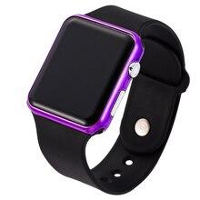 цена на TMC#210 New Stylish Sport LED Watches Women Men Unisex Digital Clock Army Military Silicone Wrist Watch Relogio Masculino 2019
