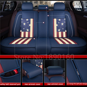 Image 5 - (Voor + Achter) speciale Lederen Auto Seat Cover voor Jac Alle Modellen Rein seat cover 13 s5 faux s5 auto auto auto accessoires styling