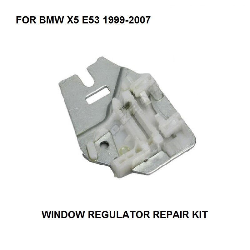 OE: 51357125060 FOR BMW X5 E53 WINDOW REGULATOR REPAIR CLIPS With METAL SLIDER REAR RIGHT SIDE 99-07