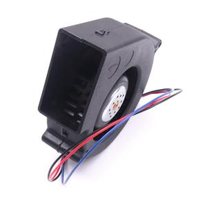 Image 2 - New Black DC 12V 0.5 1A 3 Pin Brushless Turbo Blower Centrifugal Fan BBQ Stove Cooking Cooler Powerful Air Blower Fan 4500RPM