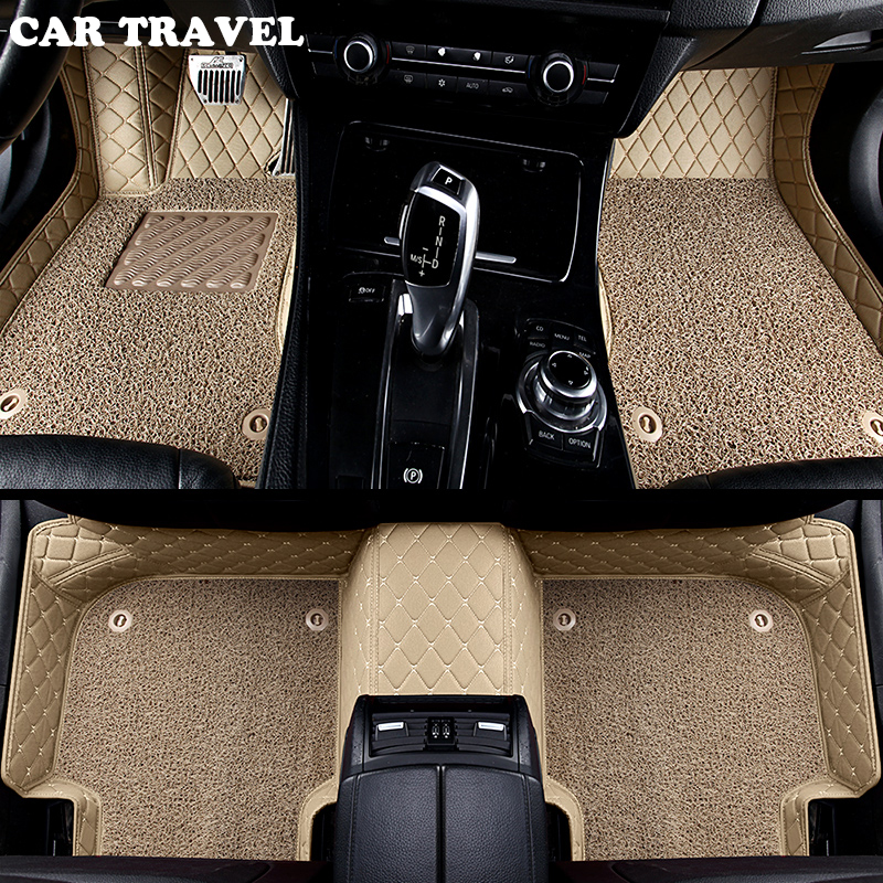 Custom Car Floor Mats For Mazda All Models Cx5 CX-7 CX-9 RX-8 Mazda3/5/6/8 March May ATENZA Accessorie Car Styling Floor Mat