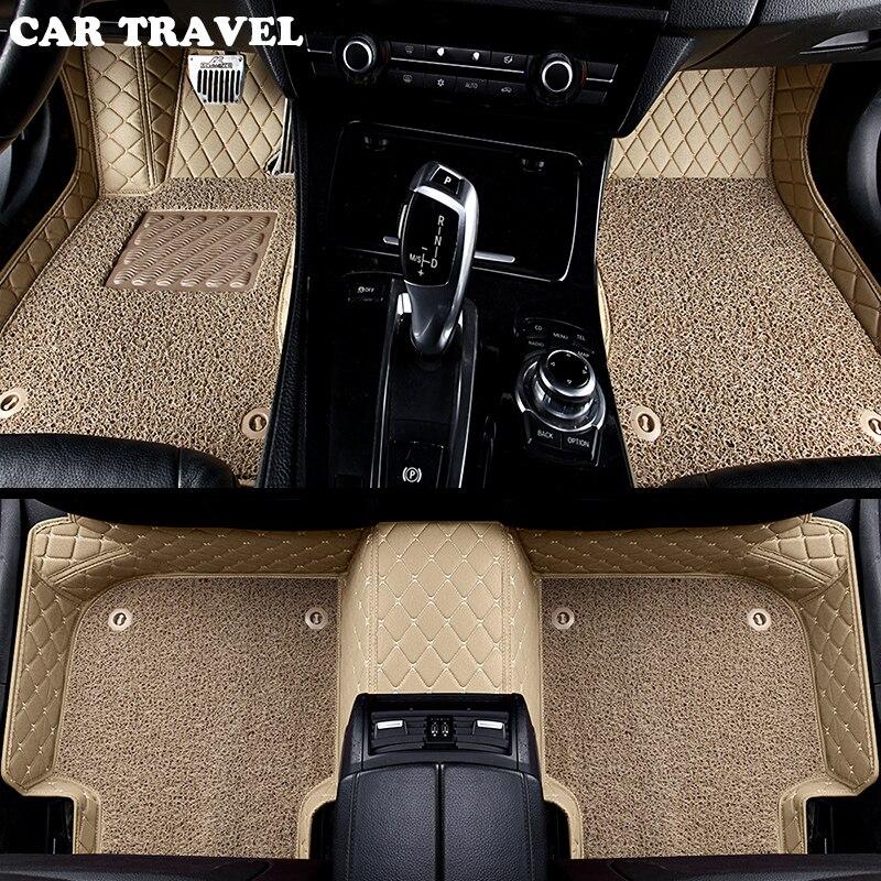 Personnalisé tapis de sol de voiture pour Mazda Tous Les Modèles cx5 CX-7 CX-9 RX-8 Mazda3/5/6/8 Mars Mai ATENZA accessoire de voiture tapis de sol