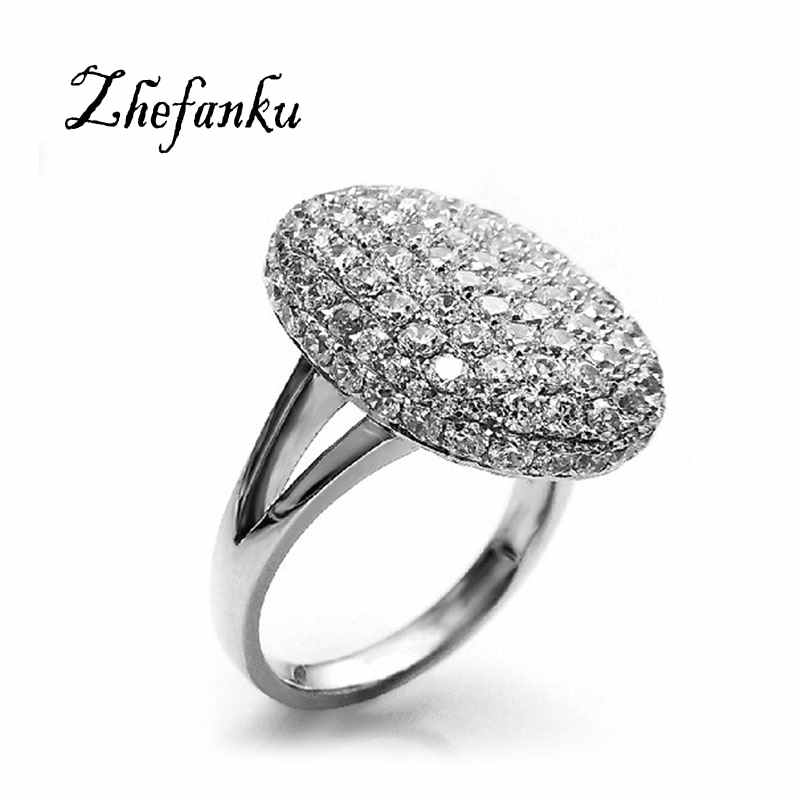 Brand Jewelry New Arrival Hotsale Bella Ring Romantic Crystal Engagement Wedding Ring For Women