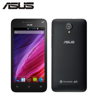 Brand New ASUS ZenFone T45 T001 Mobile Phone Mediatek MT6582M Quad Core 512MB RAM 4GB ROM 4.5Screen 854x480p Android SmartPhone feature phone