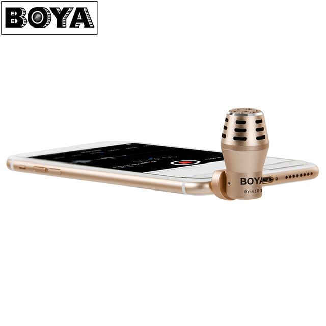 Boya By A100 Professional Omni Directional Condenser Metal Phone