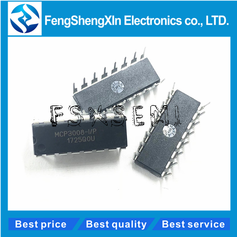 Detail Feedback Questions about MCP3008 I/P MCP3008 Converters IC