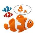 Venta al por menor de dibujos animados buscando a nemo pez payaso divertido usb flash drive pen drive de memoria u disco stick 4 gb 8 gb 16 gb 32 gb pendrive