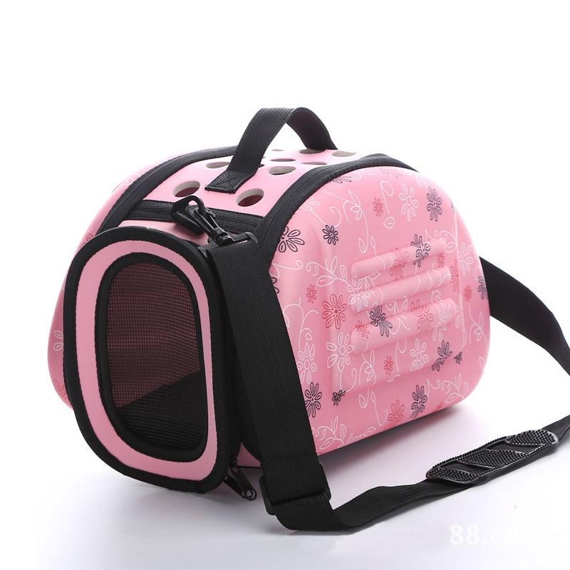 Portable Travel Pet Bag Outdoor Puppy Dog Cat Carrier Bags Shoulder Package Handbag Foldable EVA Material Soft Pets Dog Bag