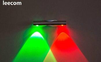 2017 Sale Ce Led Spotlight 2018 New Design Lights 2w  Spot 6pcs/lot Led Wall Down Light With 500lm Lumen Lights,free Shipping