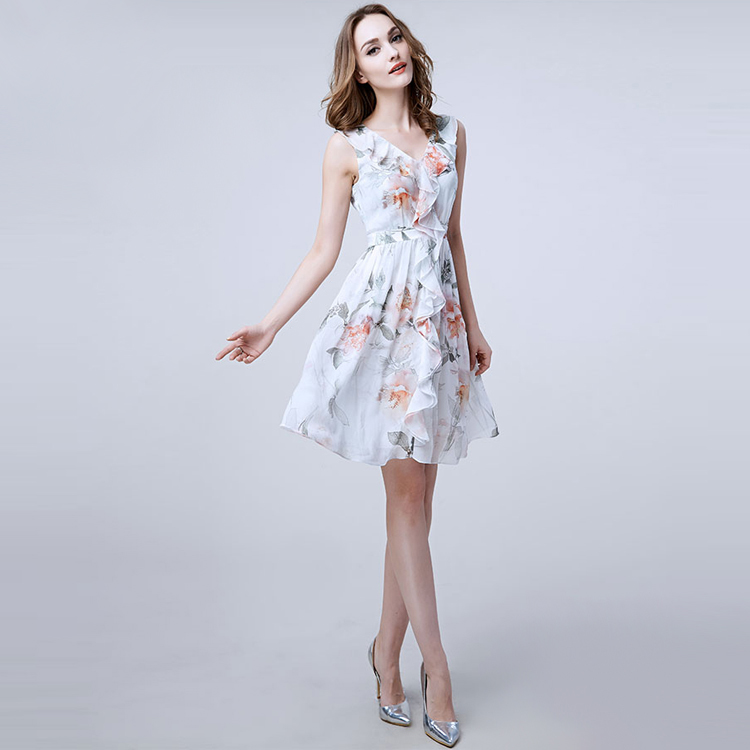 Popular Silk Summer Dresses-Buy Cheap Silk Summer Dresses lots ...