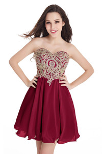 Sale Cheap In Stock Homecoming Dresses 2018 Designer Occasion Dress Sweetheart Short Cocktail Party Prom Gowns 100% Real Image