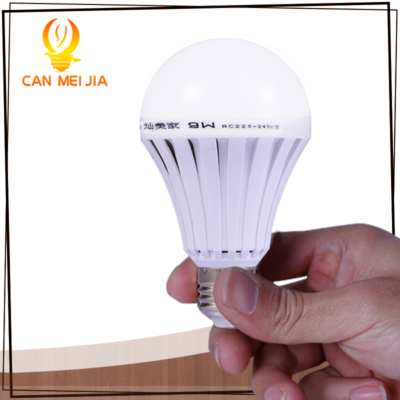 Rechargeable LED Light Bulb E27 5W 7W 9W 12W Led Emergency Bulbs Lamp 220V Saving Energy Intelligent Light Household Lighting led globe bulbs e27 led bulb 220v 7w white warm white light led lamp 108 spot light energy saving lamps high bright 360 degree